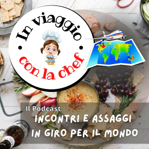 logo Podcast In viaggio con la Chef
